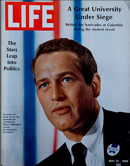 Michael Mauney's first Life magazine cover.